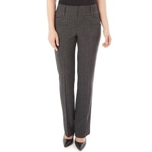 Apt. 9 Curvier Fit Straight-Leg Dress Pants Size 6